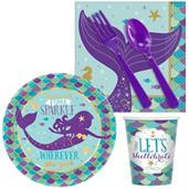 Mermaid Wishes Snack Pack for 16