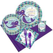 Mermaid Wishes Party Pack for 8