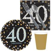 Sparkling Celebration 40th Birthday Snack Pack for