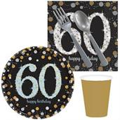 Sparkling Celebration 60th Birthday Snack Pack for
