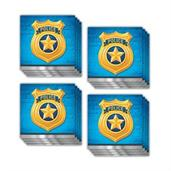 Police Party Beverage Napkins (48)