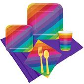 Rainbow Party Pack For 8