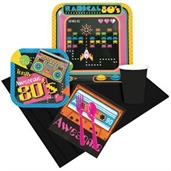 80's Party Pack For 8