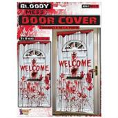 "Bloody Mess ""Welcome"" Door Cover"
