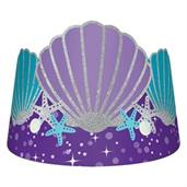 Mermaid Wishes Paper Crown (8)