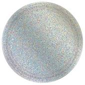 Prismatic Silver Lunch Plate (8)