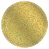Prismatic Gold Lunch Plate (8)