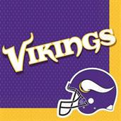 Minnesota Vikings NFL Lunch Napkin (16)