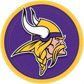 "Minnesota Vikings 9"" Lunch Plate (8)"