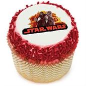 "Star Wars Han Solo 2"" Edible Cupcake Topper (12 Im"