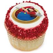 Super Mario Edible Cupcake Topper (12 Images)