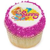 Sunny Day Edible Cupcake Topper (12 Images) Edible