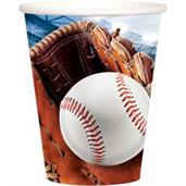 Baseball 9oz Cups