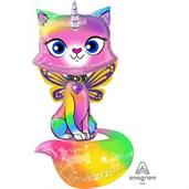 44 Unicorn Kitty Air-Walker Foil Balloon