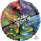 Hx Rise Of The Tmnt - Pkg Foil Balloon