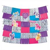 MLP Friendship Adventures Deluxe 9Pc Backdrop Decor