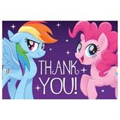 MLP Friendship Adventures Postcard Thank You (8)