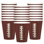 Football 9oz Cups (24)