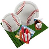 Baseball Party Party Pack for 8