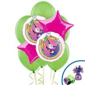 Butterfly Unicorn Kitty Balloon Bouquet