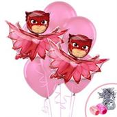 PJ Masks Owlette Jumbo Balloon Bouquet