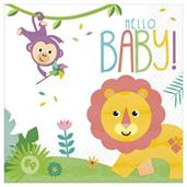 Fisher Price Hello Baby Luncheon Napkins (16)