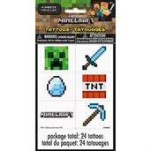 Minecraft Tattoos (24 each)