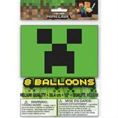 "Minecraft 12"" Latex Balloon (8)"