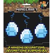 Minecraft 3 Hanging Swirls 26in each