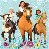 Spirit Riding Free Lunch Napkin (16)