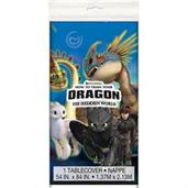 How To Train Your Dragon 3 Plastic Tblcvr 54X84