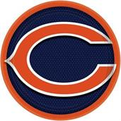 "Chicago Bears 9"" Lunch Plate (8)"