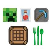 Minecraft Party Supplies Party Pack for 8
