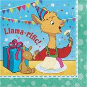 Llama Llama Happy Birthday Lunch Napkin (16)