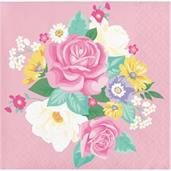 Floral Tea Party Beverage Napkin (16)