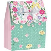 Floral Tea Party Favor Bags (12)