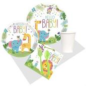 Fisher Price Hello Baby Shower Lunch Party Pack fo