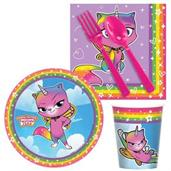 Rainbow Butterfly Unicorn Kitty Snack Pack for 16