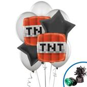 Minecraft Balloon Bouquet