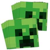 Minecraft Lunch Napkins (48)