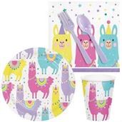 Llama Party Snack Pack for 16