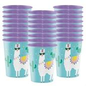 Llama Party 16oz.Plastic Favor Cup (1)