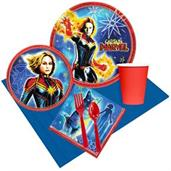 Captain Marvel Party Supplies & Decorations