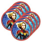 Captain Marvel 7 Dessert Plate (24)