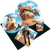 Treasure Island Happy Birthday Party Pack for 8
