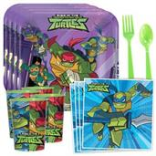 Rise of the TMNT Standard Tableware Kit with Favor