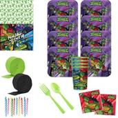 Rise of the TMNT Deluxe Tableware Kit with Favor C