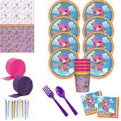 Rainbow Butterfly Unicorn Deluxe Tableware Kit wit
