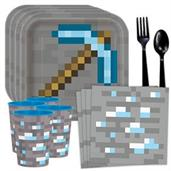 Minecraft Standard Tableware Kit with Favor Cups (