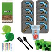 Minecraft Deluxe Tableware Kit (Serves 8)